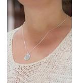 Silver Necklace 'Sisters' - Copy