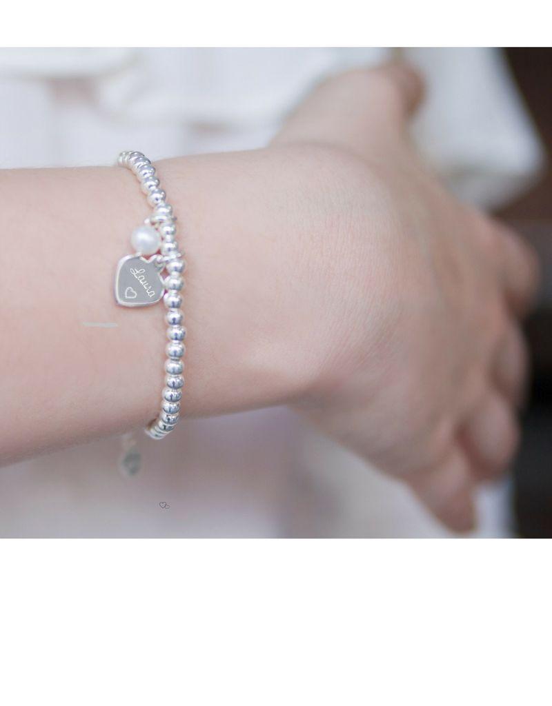 3 Zilveren Armbanden 'Stel zelf Samen'