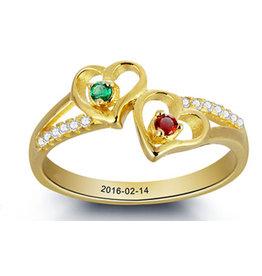 juwelier Gepersonaliseerde Gouden Ring