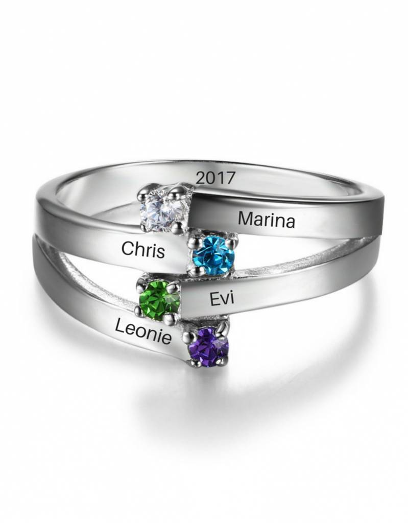Call with four birthstones