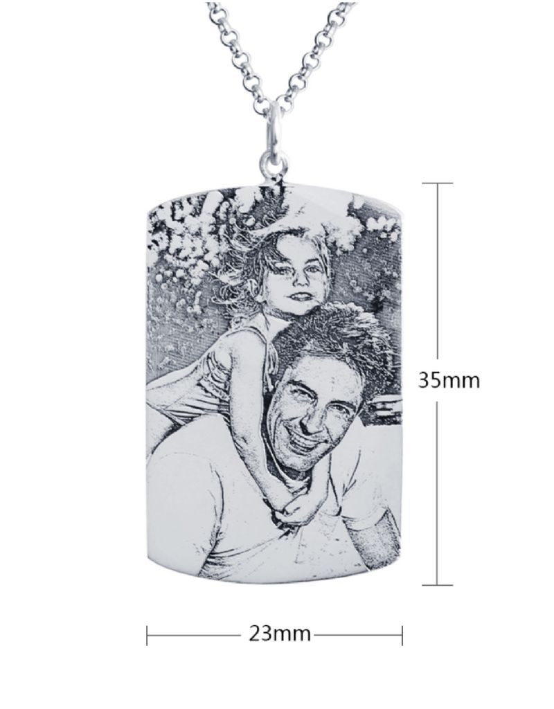 Necklace with photo