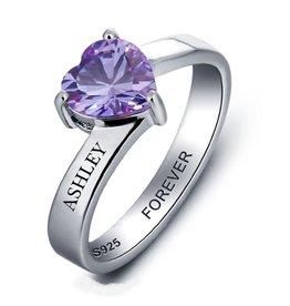 juwelora Ring met 1 geboortesteen