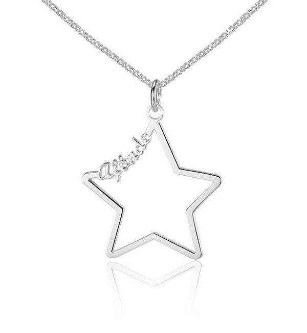 Gepersonaliseerde sieraden Naamketting 'Written in the Stars'