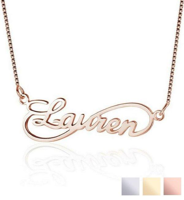 Sieraden graveren Women's chain 'infinity'