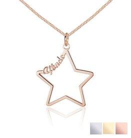 Gegraveerde sieraden Ketting 'Written in the Stars'