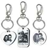 juwelier Keychain with photo and text