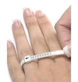 Meet  & Pas Ring (voor bepalen juiste ringmaat)