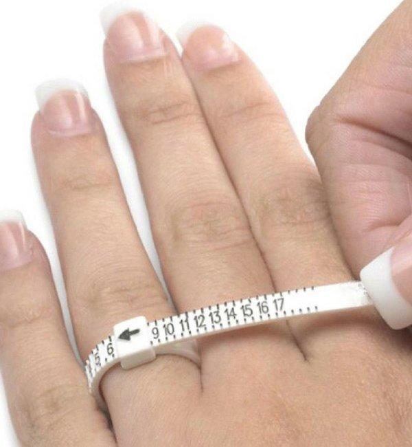 KAYA sieraden Meet  & Pas Ring voor het bepalen juiste ringmaat
