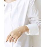 KAYA Sterling silver bracelet with engraved beads