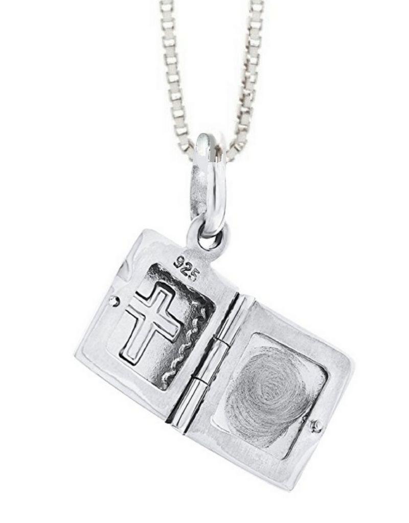 KAYA sieraden Medallion necklace 'bible'