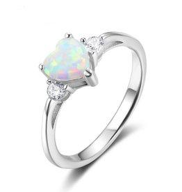 KAYA sieraden Zilveren ring met opaal