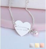 KAYA Gepersonaliseerde armband 'Sweetheart'