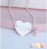 KAYA sieraden Gepersonaliseerde armband 'Sweetheart'