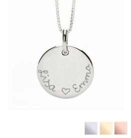 handgravure Ketting 'Round and Round'