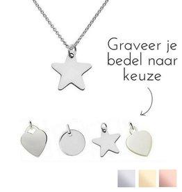 KAYA Silver Graveerbedel ★ ★ additional personal - Copy