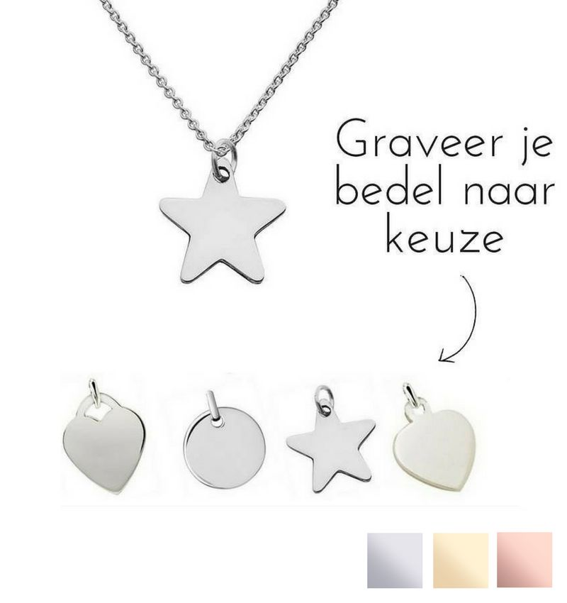 Silver Graveerbedel ★ ★ additional personal - Copy