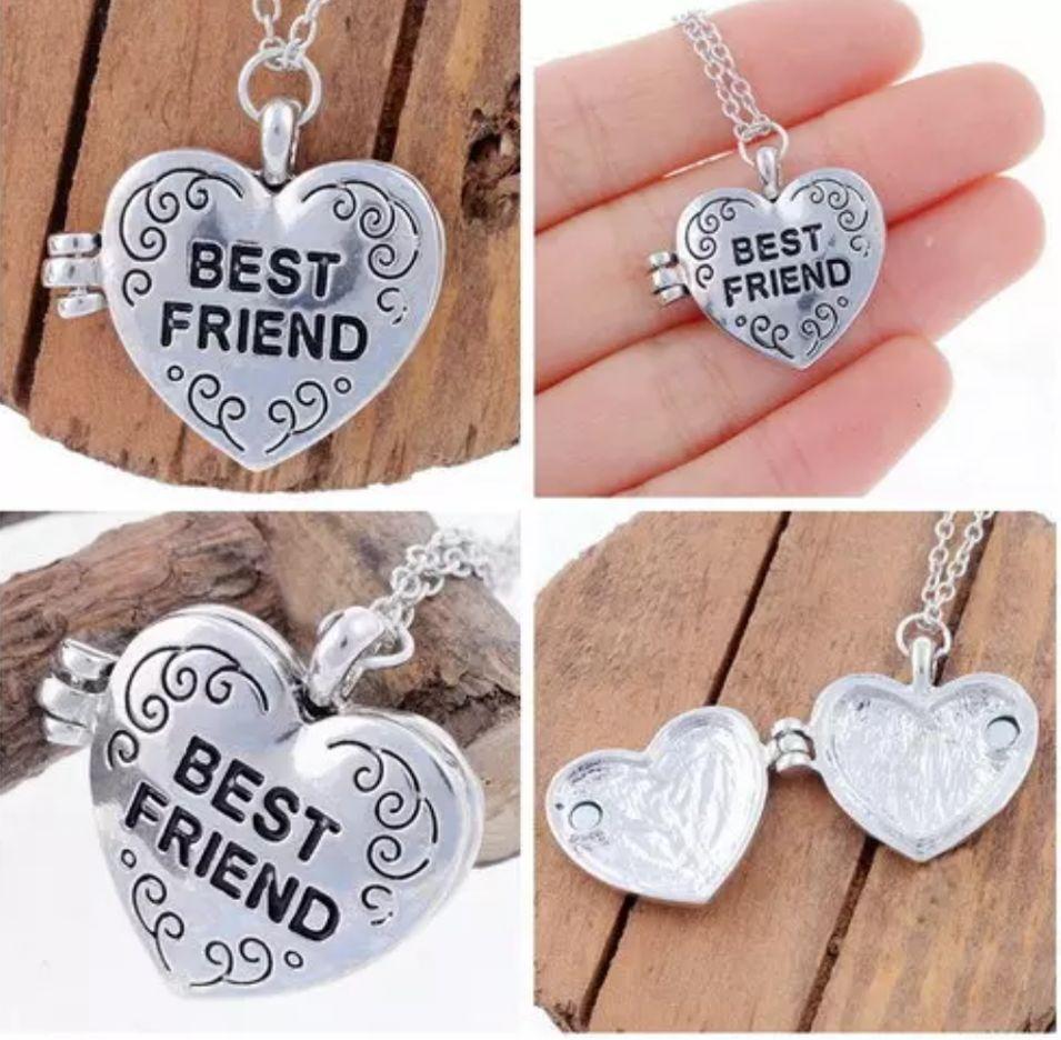 """Silver necklace 'Medaillong """"engraved - Copy - Copy"""