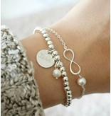 """KAYA sieraden Silver set """"You are loved for Infinity ' - Copy"""