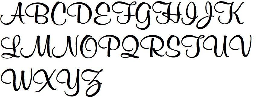 KAYA sieraden Verzilverde Letterbedeltjes
