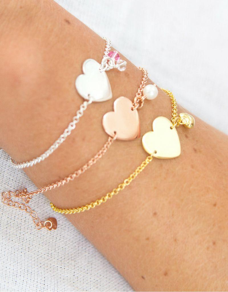 Gepersonaliseerde armband 'Sweetheart'
