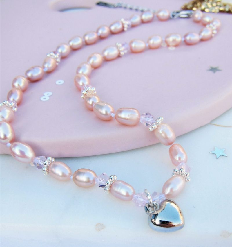 Parelketting 'My First Pearls'