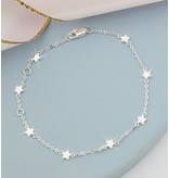 KAYA Zilveren damesarmband 'Twinkle Star'