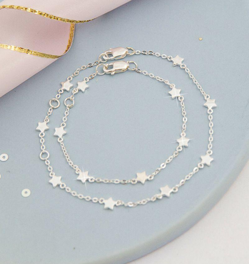 Silver baby bracelet 'Twinkle Star'