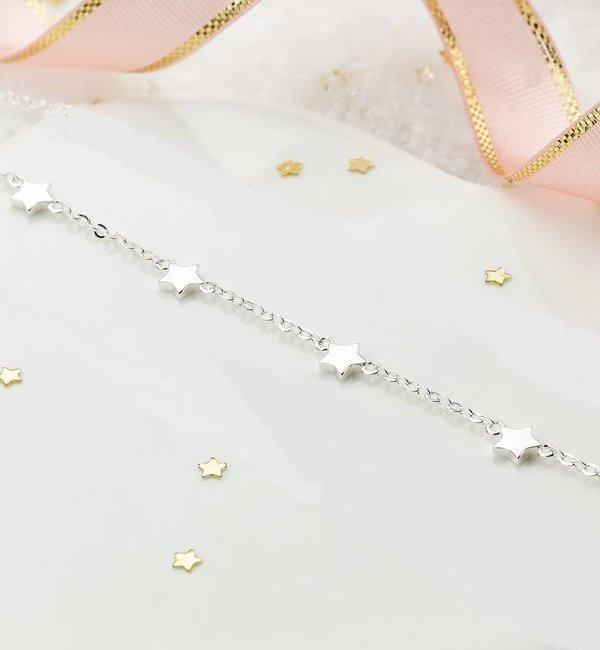 KAYA sieraden Silver baby bracelet 'Twinkle Star' - Copy - Copy