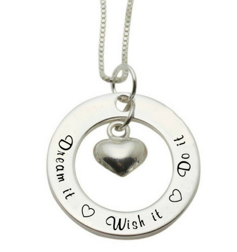 Silver necklace 'Always & Forever' - Copy
