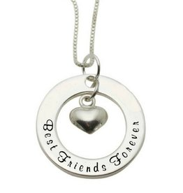 Silver necklace 'Always & Forever' - Copy - Copy