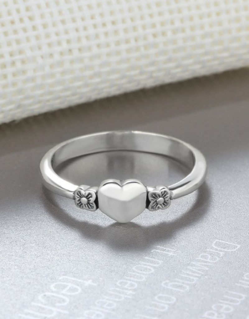KAYA Silver ring with inititaal - Copy