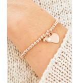 KAYA Silver bracelet 'Cute Balls' with Bead & Pearl