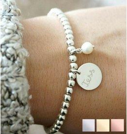 KAYA sieraden Armband 'Cute Balls' met Parel