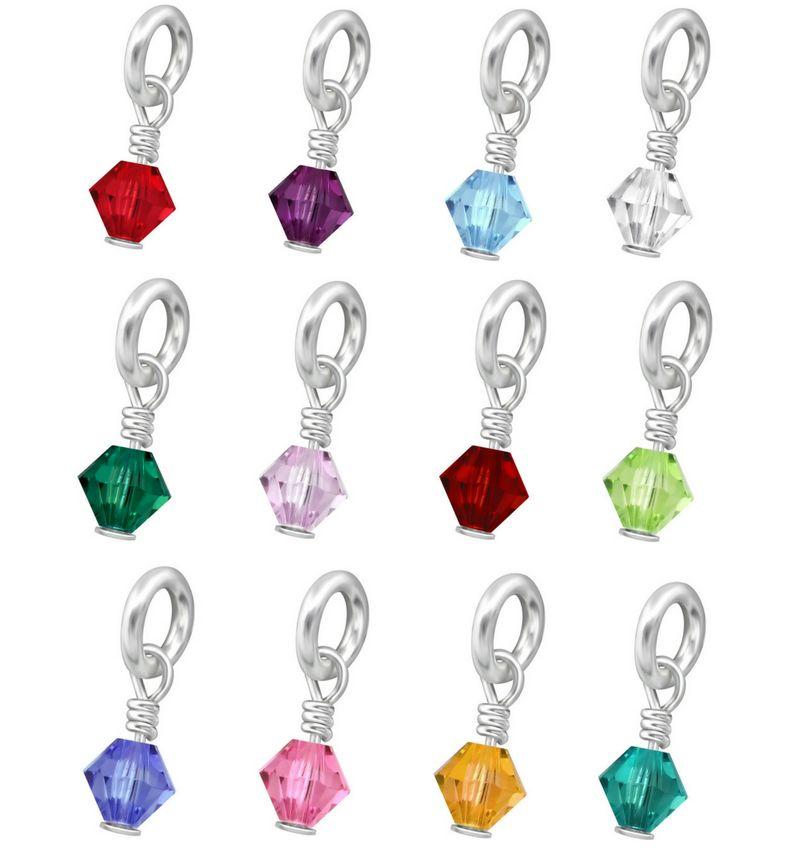 KAYA sieraden Zilveren Swarovski® Geboortekristal