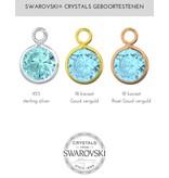 KAYA sieraden Zilveren Swarovski® Geboortesteen