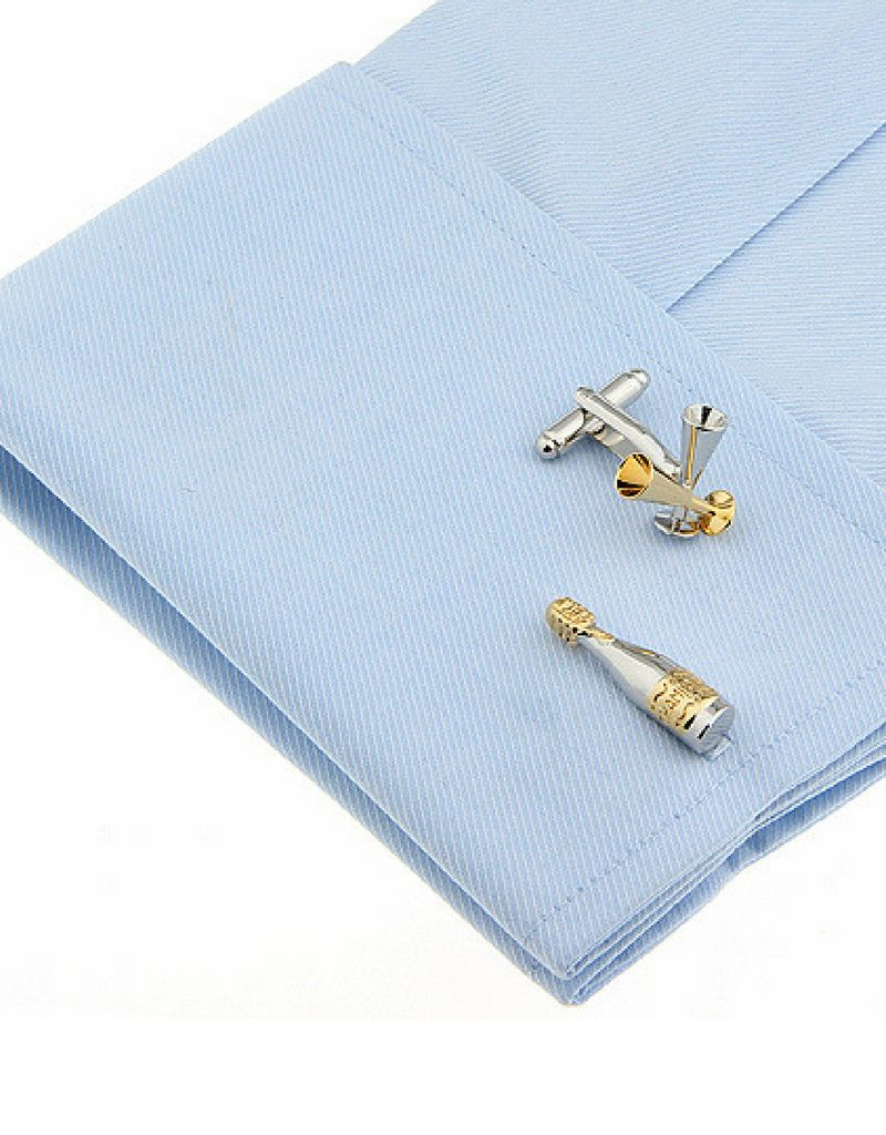 KAYA Cufflinks 'blocks' - Copy - Copy - Copy