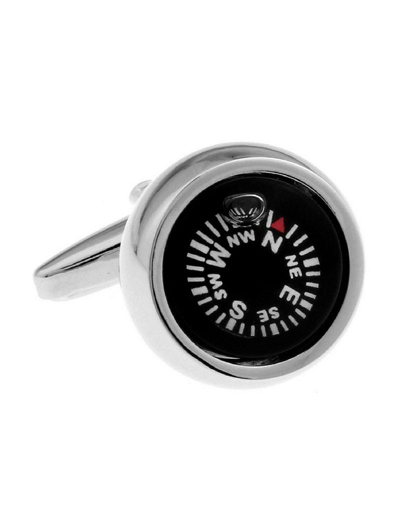 Manchetknopen 'kompas'