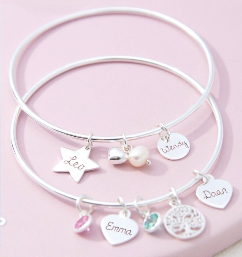 KAYA sieraden Silver Chain Bracelet 'Ask yourself together' - Copy