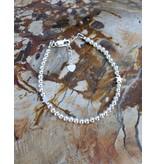 KAYA Zilveren armband 'Cute Balls' - met 2 sterren