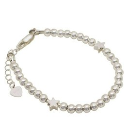 KAYA Zilveren armband 2 sterren
