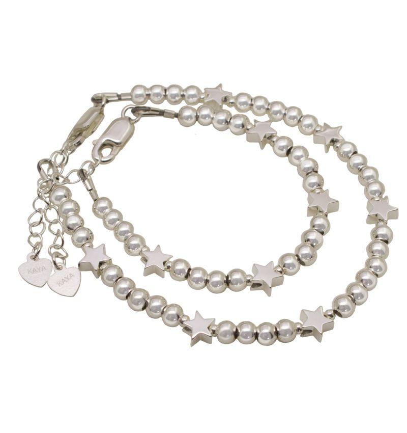 KAYA sieraden Silver bracelet 'Cute Balls' - Copy - Copy - Copy - Copy - Copy - Copy - Copy - Copy