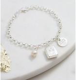 KAYA sieraden Silver jasseron bracelet 'communion'