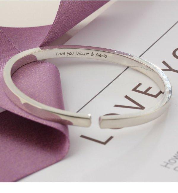 KAYA sieraden Personalized bracelet - stainless steel - Copy