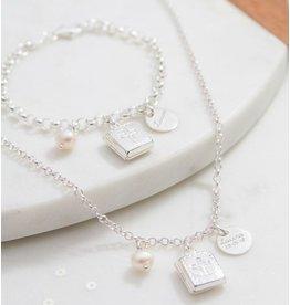 KAYA Silver jasseron bracelet 'communion' - Copy