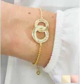 handgravure Personalized Bracelet 'Stiffened'