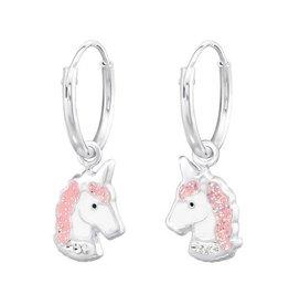 KAYA Kinderoorbellen 'Unicorn' roze