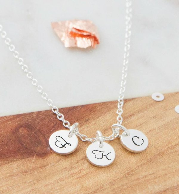 KAYA sieraden Mother Daughter set 'Choose your Initials' - Copy