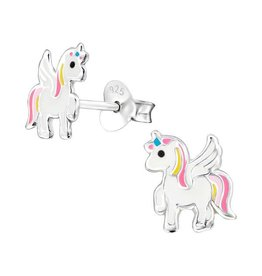 KAYA Kinderoorbellen 'Unicorn' - roze