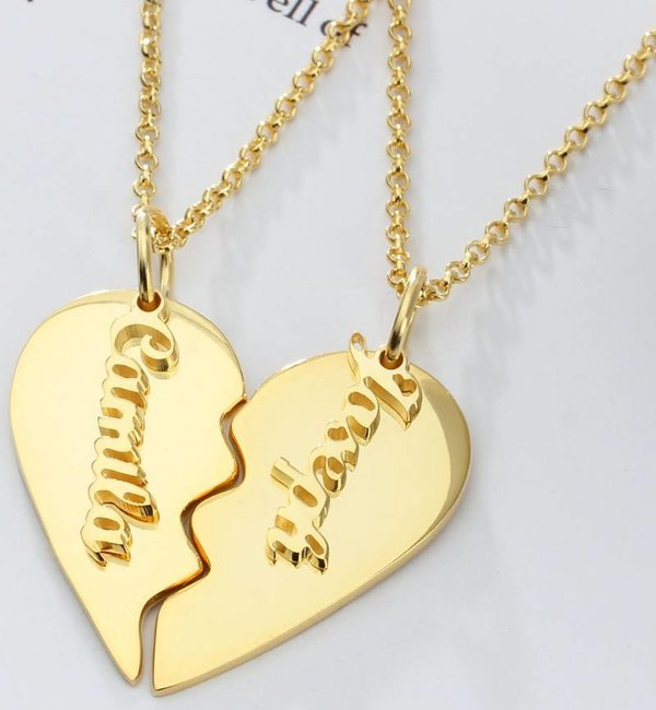 Sieraden graveren Name Necklace 'Claudia' in the name of your choice - Copy - Copy