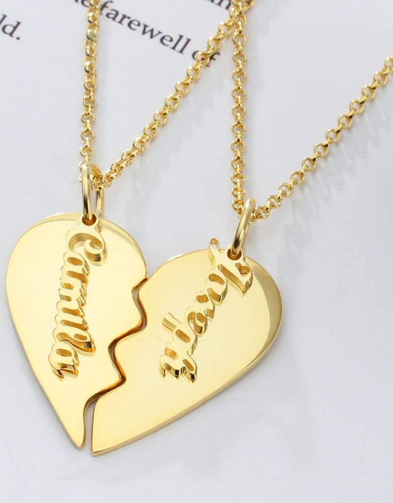 Gepersonaliseerd Name Necklace 'Claudia' in the name of your choice - Copy - Copy